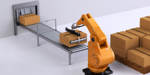 palletising and depalletising robot