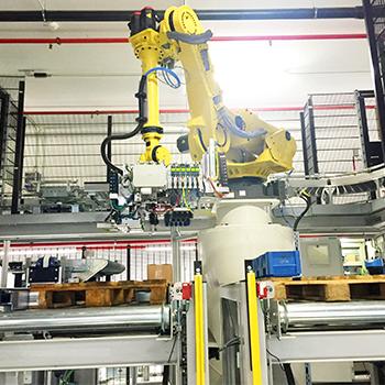 Palettier- und Depalettier-Roboter