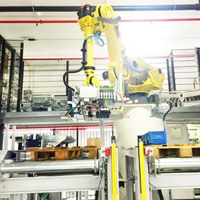Робот палетизатор и депалетизатор