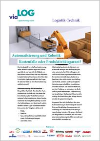 Broschüre Automatisierung und Robotik in der Intralogistik