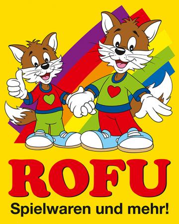 Logo der ROFU Kinderland Spielwarenhandelsgesellschaft mbH